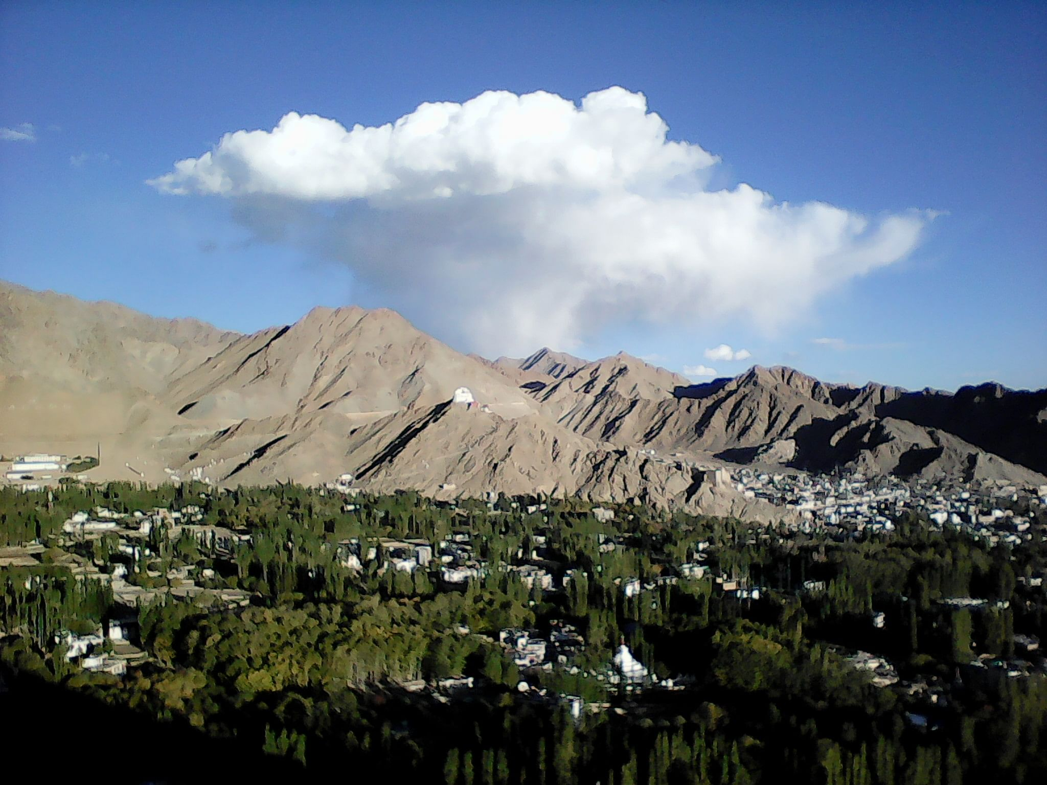 View onto Leh Valley, Ladakh