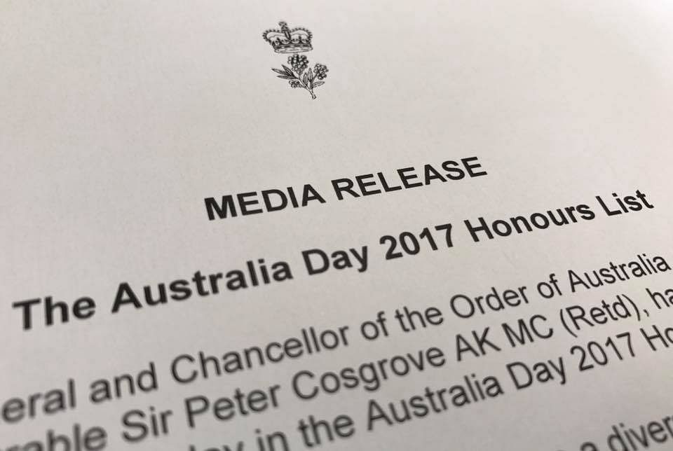 Honours List