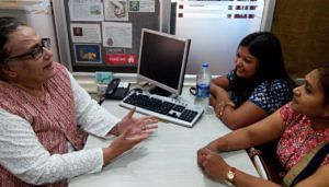 Ophthalmologist Dr Shireen in her new meaningful, fulfilling career as a counsellor.