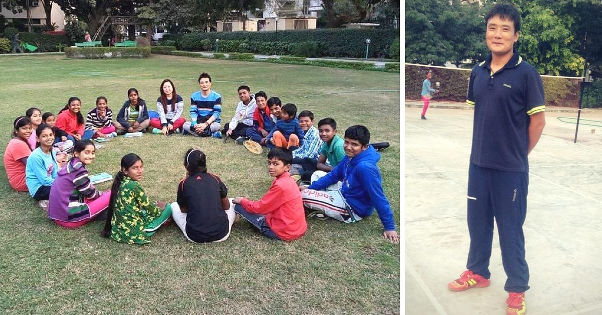 This Youth from Arunachal Is Badminton Coach to 40 Underprivileged Kids in Delhi