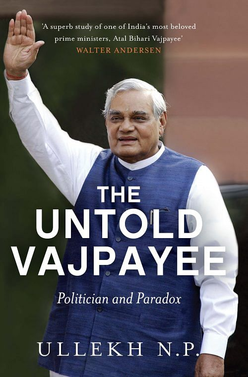 The Untold Vajpayee_Front Cover