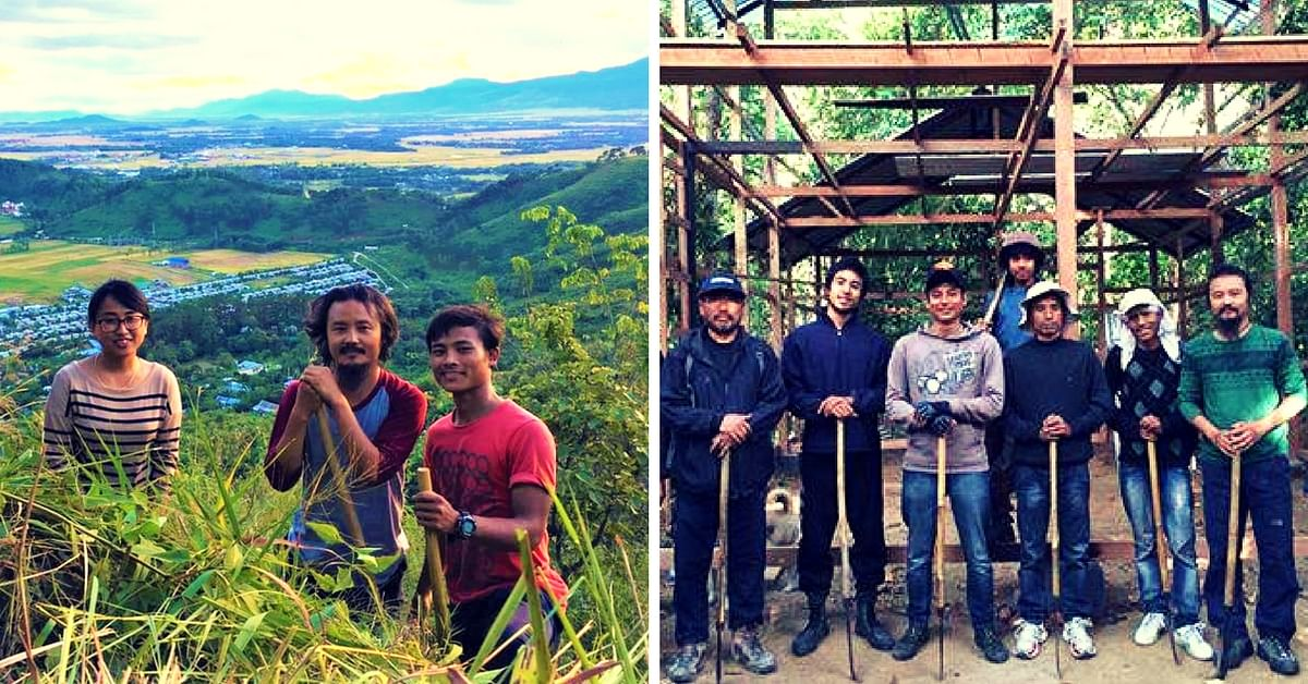 A Group of Youngsters in Manipur Worked 10 years to Transform Barren Land Into a Lush Forest