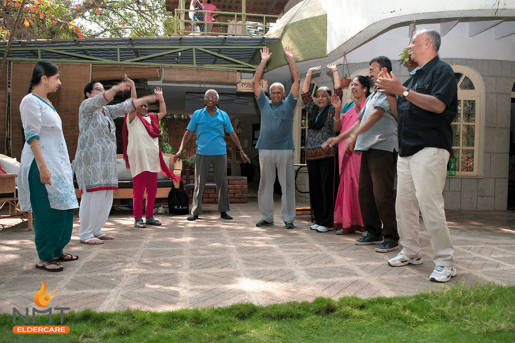 NMT's Active Ageing Centres promote a healthy lifestyle in elders in a safe, friendly and fun-filled environment.