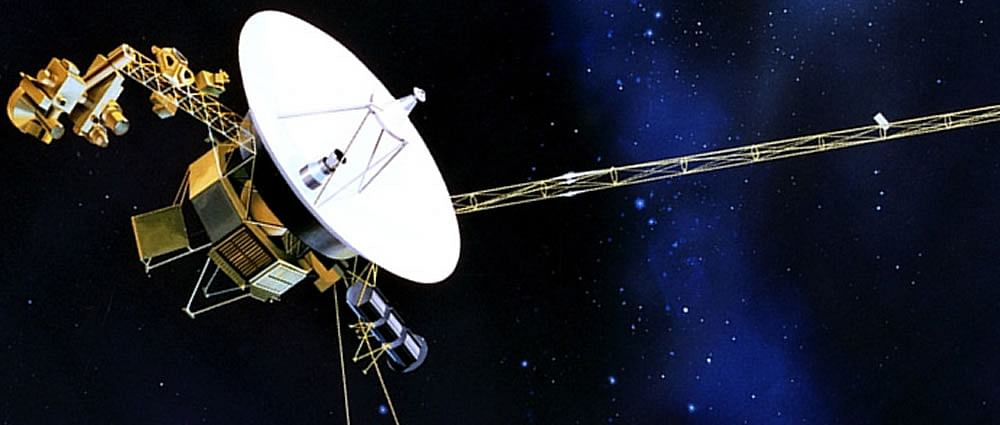 the interstellar journey of an indian raga aboard the voyager 1