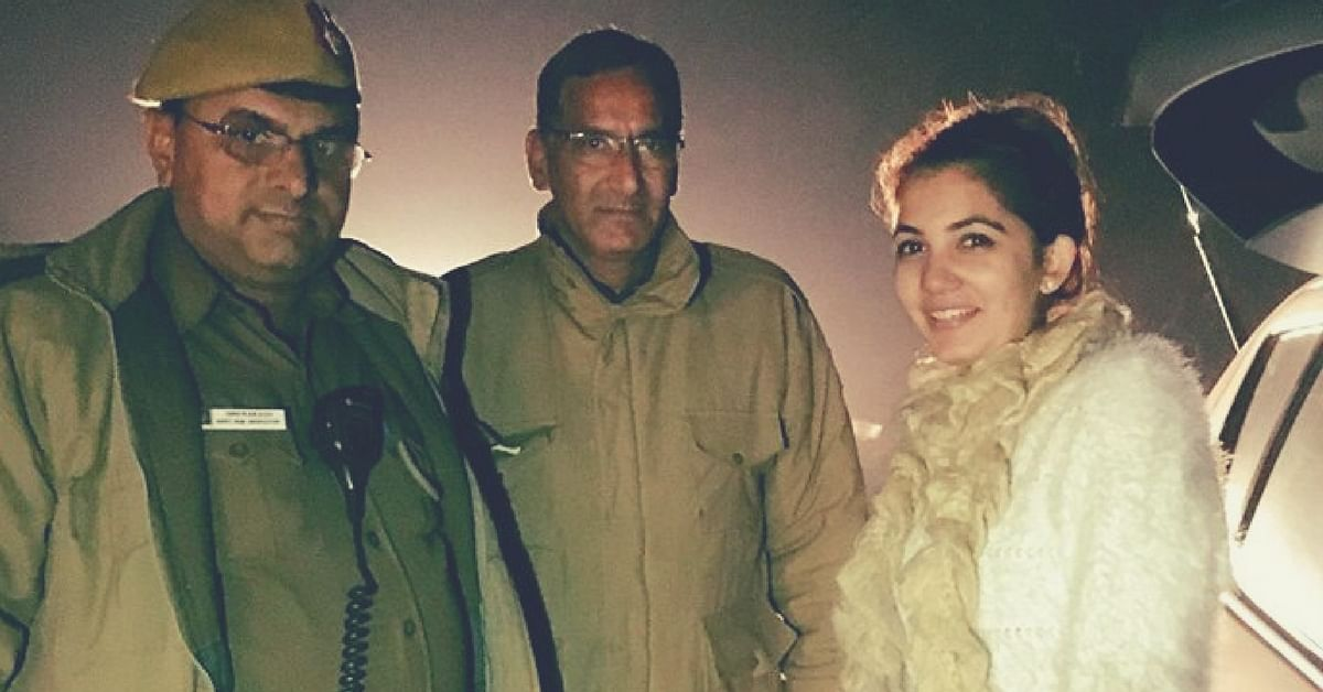 Ever Been Stranded on a Delhi Street Post Midnight? This Girl Was. And Then 2 Cops Came Along!