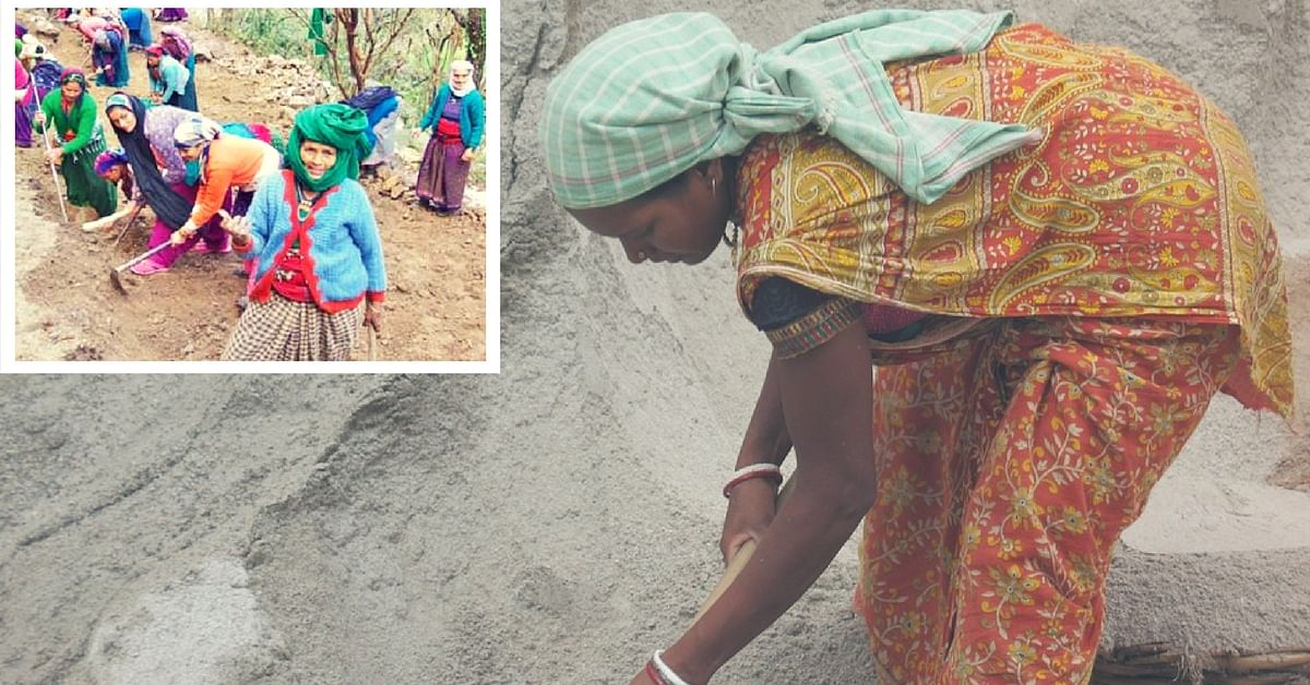 Women in Gangotri Are Building Their Own Road & Won't Vote Unless Political Parties Help Them!