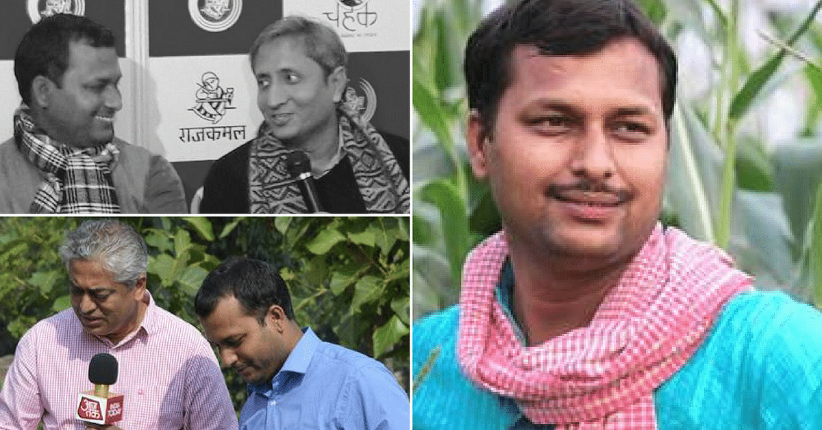 This Journalist-Turned-Farmer Is Putting His Village on the Global Map!