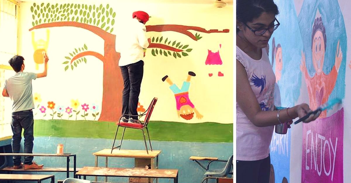 How One Organization is Giving 'Happy' Makeovers to Schools in Chandigarh
