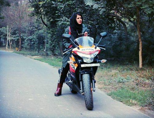 hijab biker 2