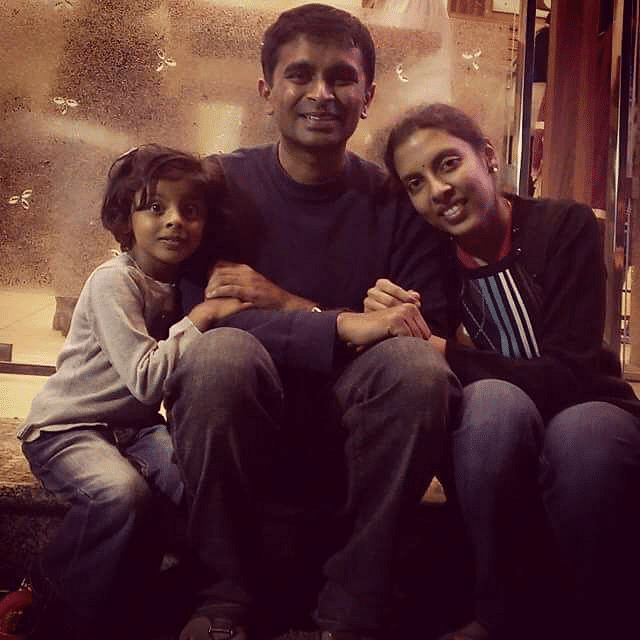 Suchindra and family