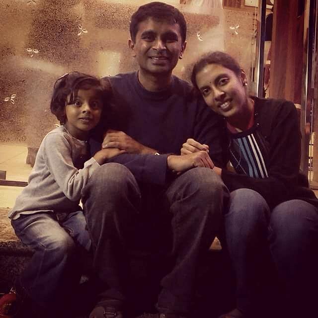 Suchindra and family