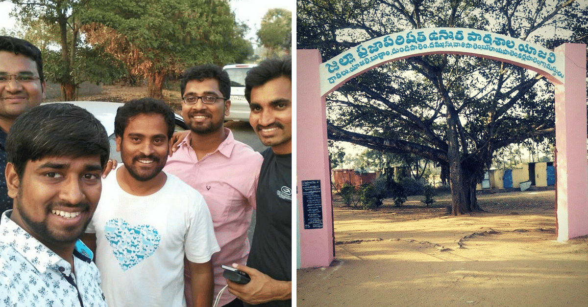 Alumni of This Government School Came Together to Transform It, and the Entire Village