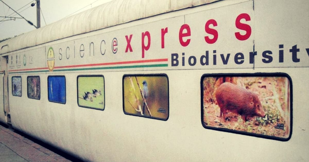 All Aboard the Science Express! Special Train Flagged off to Spread Climate Change Awareness