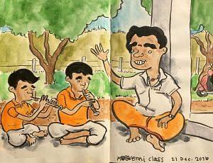 Classes at Kattaikkuttu Sangam