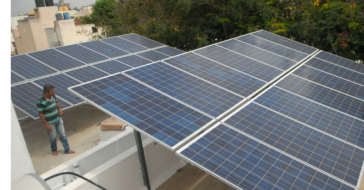 Solar Ed Ac House In Bengaluru Runs Without Electricity