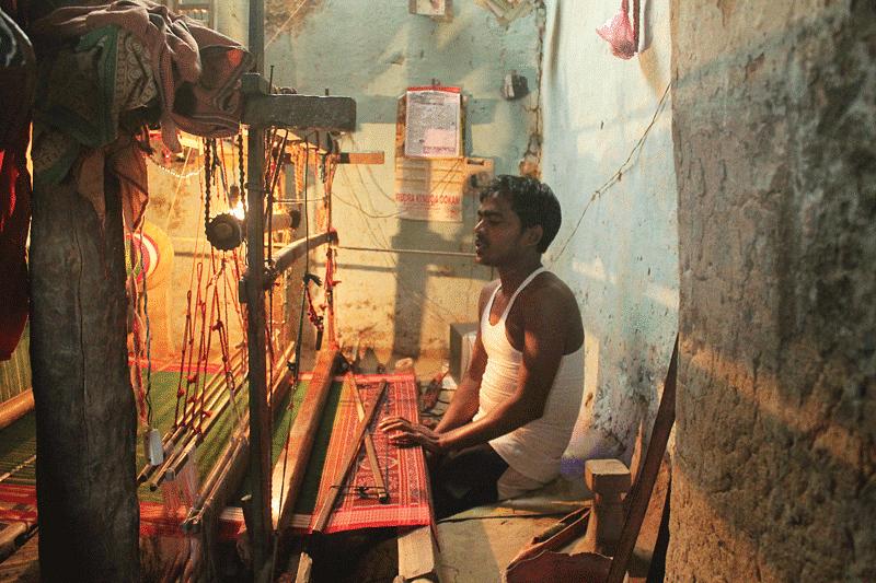 Barpali weaver