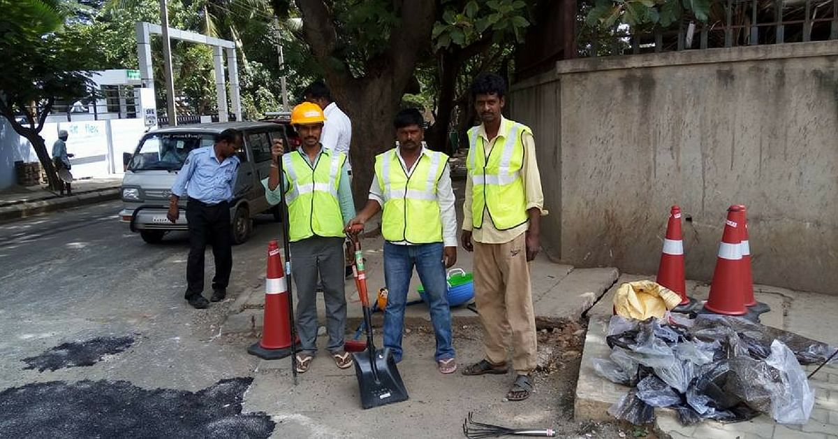 Bengaluru's Pothole Raja Has Fixed Over 200 Potholes in Less Than a Year. You Can Do It Too!