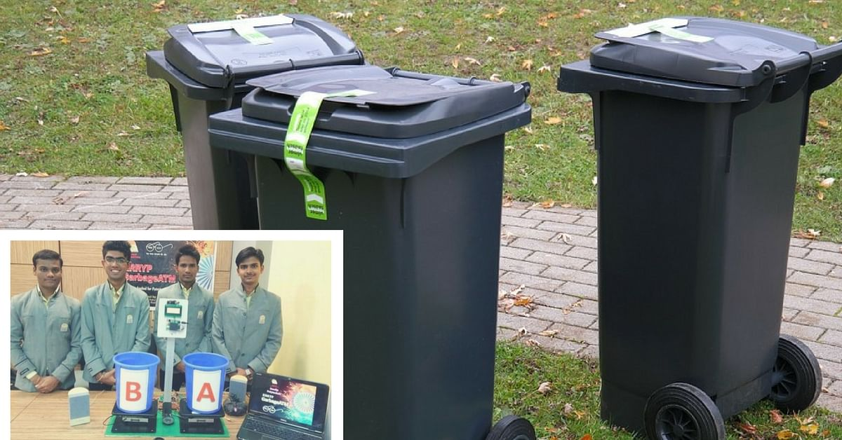 Garbage ATMs? These 'Smart' Dustbins Developed in Nashik Can Reward Users With Money!