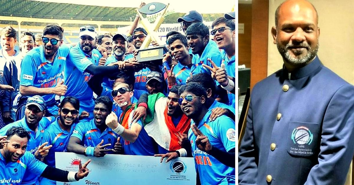 This Political Science Professor Has Led the Indian Blind Cricket Team to Three World Cup Wins!