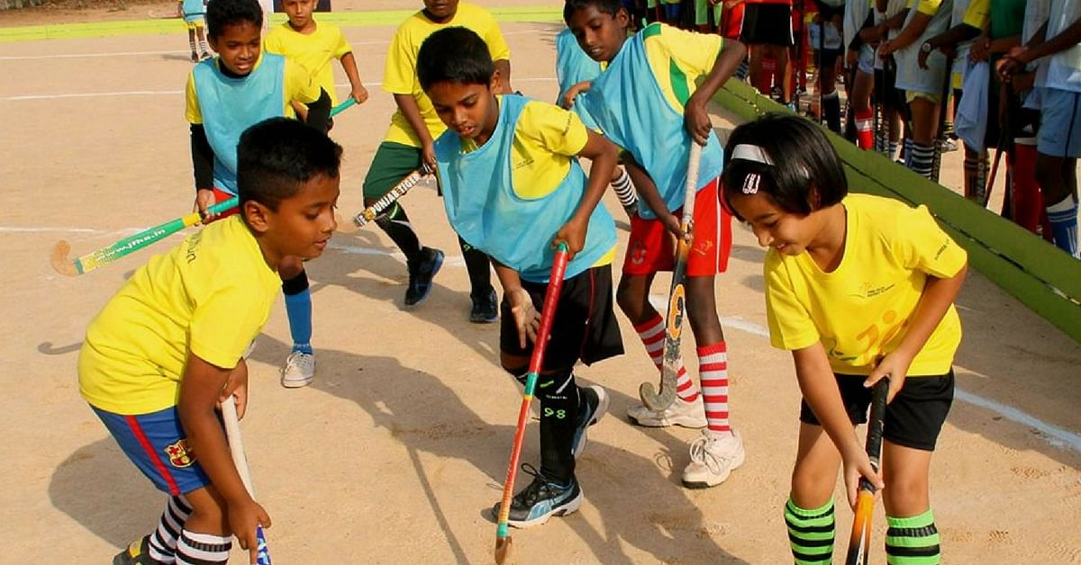 How a Former Olympian Is Giving Direction and Life Goals to Orphans. Through Hockey.