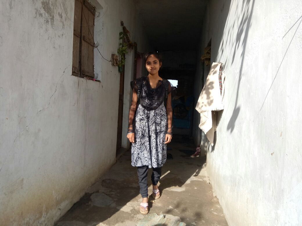 Vaishnavi Kathelkar who aspires to join police. She is a role model for girls in her community