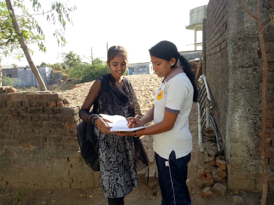 Yogita is a Magic Bus Youth Mentor who introduced Vaishanavi to Magic Bus Livelihood Centre