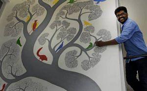 Bhajju Shyam Gond artist