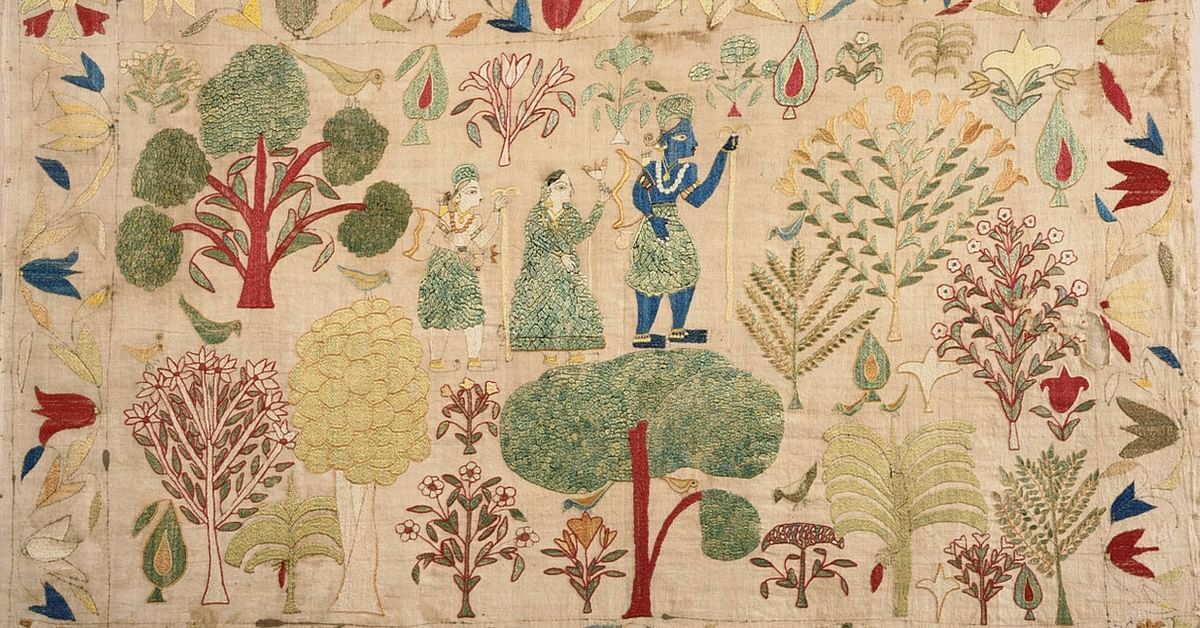 The Little Known Story of Himachal Pradesh's Unique Handkerchiefs That Were Embroidered by Queens