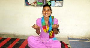 Suman of Jaisalsar village refused to be married off as a child. (Photo by Tarun Kanti Bose)