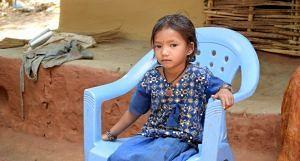 The pensive look of Devati Durua asks many questions. (Photo by Basudev Mahapatra)