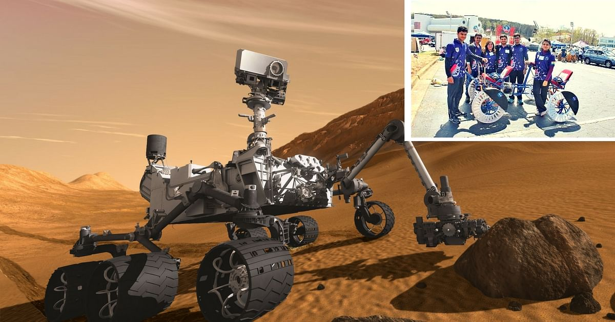 Indian Students Build Vehicle to Navigate Celestial Bodies for NASA's Rover Challenge