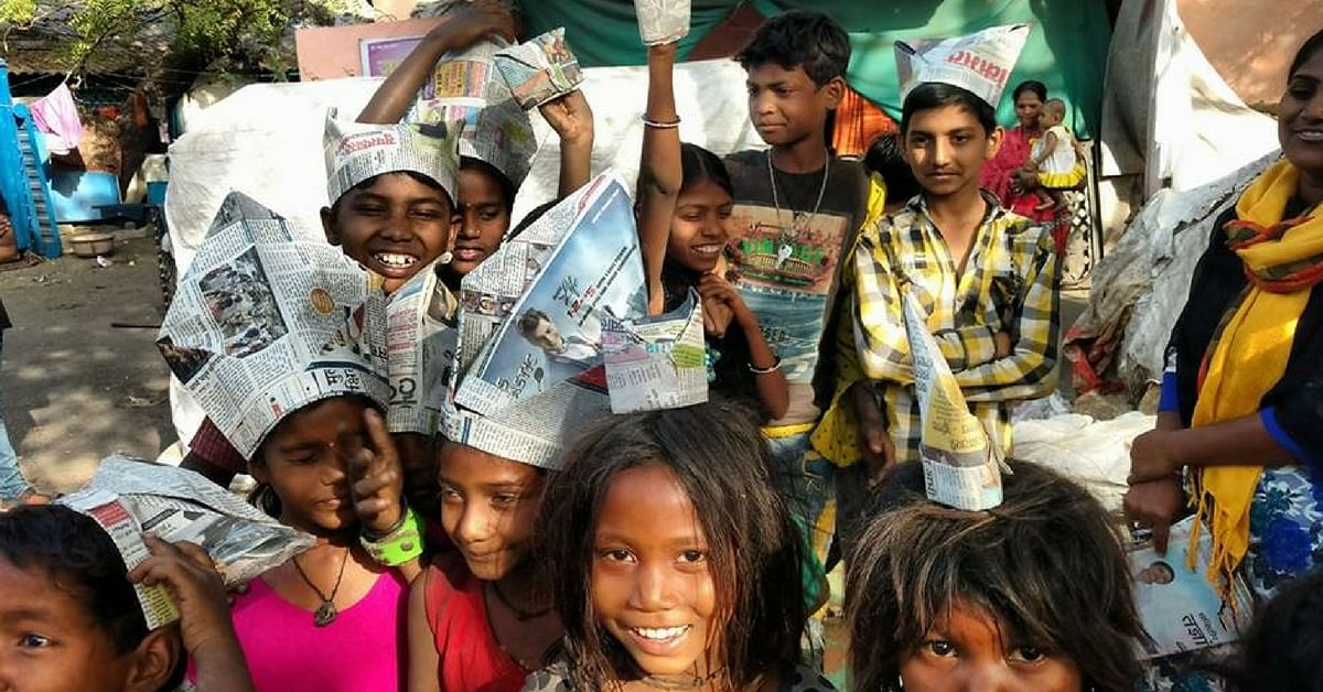 One Man in Jalgaon Has Made It Possible for Over 100 Waste-Picking Children to Study!