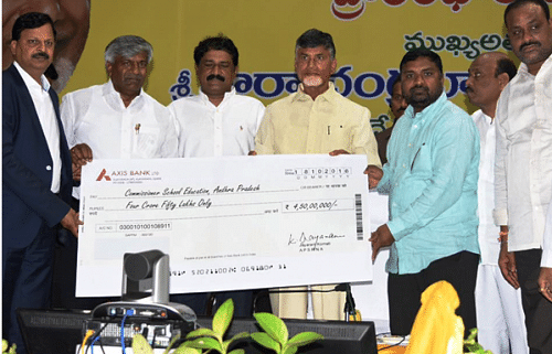 Created By The Andhra Pradesh Government The Project Is The First Of Its Kind In Terms Of An Nri Backed Social Initiative Ever Instated By Any State