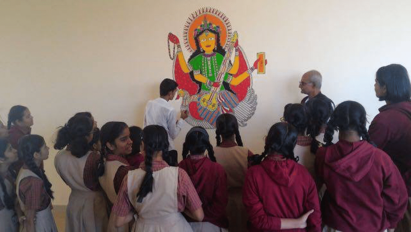 Madhubani Commissioned project