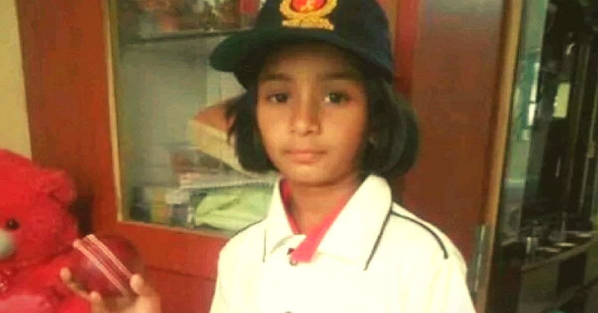 This 9-Year-Old Cricketing Sensation Is All Set to Take Indore's Under-19 Girl's Squad by Storm