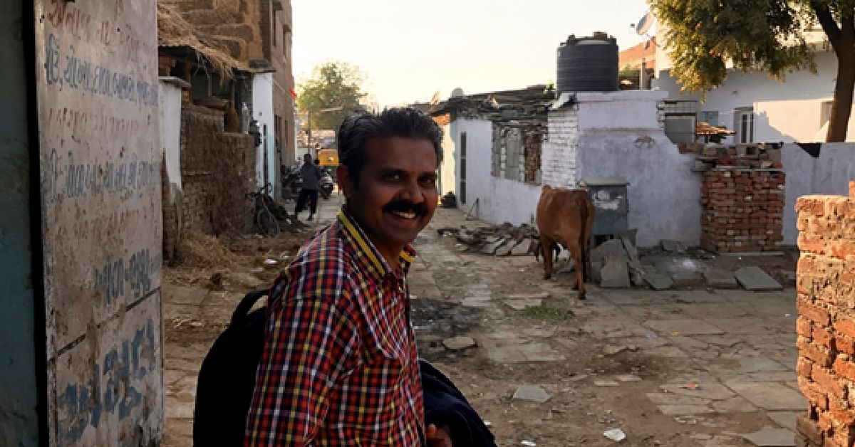 TBI Blogs: Meet the Man Who Has Dedicated His Life to Championing the Rights of People in Ahmedabad's Slums