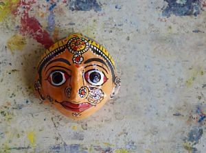 Cheriyal Paintings_Masks
