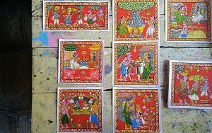 Cheriyal Paintings_Single Panel Scrolls