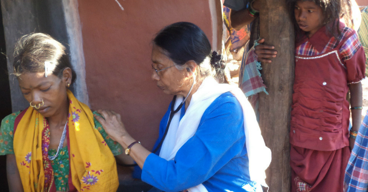 At 65, This Doctor Treks & Drives to the Remotest Pockets of Odisha to Save Lives
