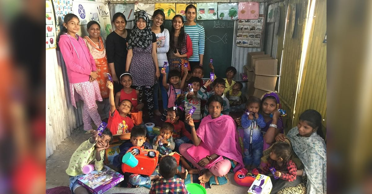 Every Week She Drives around Ahmedabad Collecting Toys from Donors & Distributing Them to Slum Kids