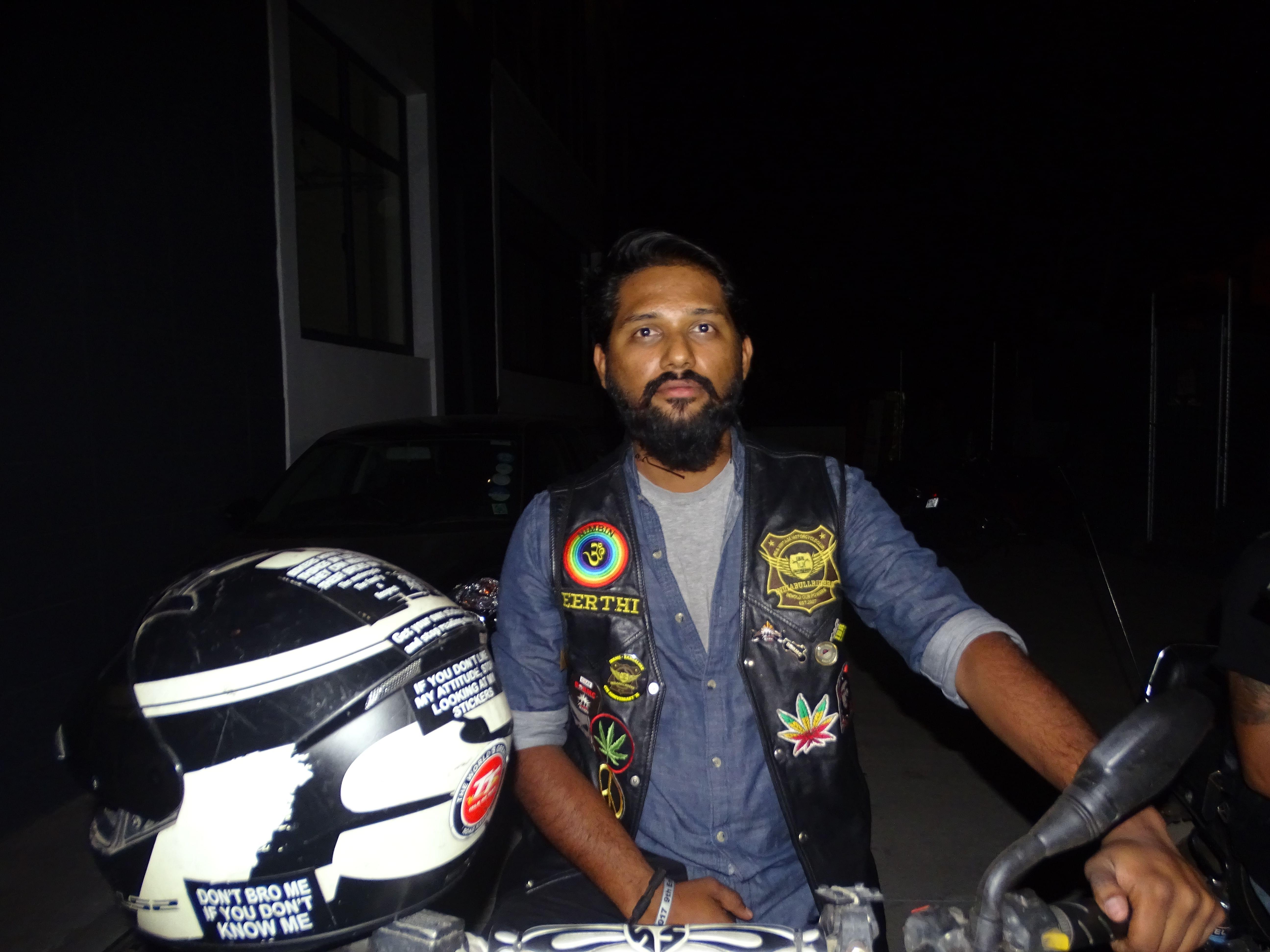 India Bull Riders - Bangalore member, Keerthi Sagar.