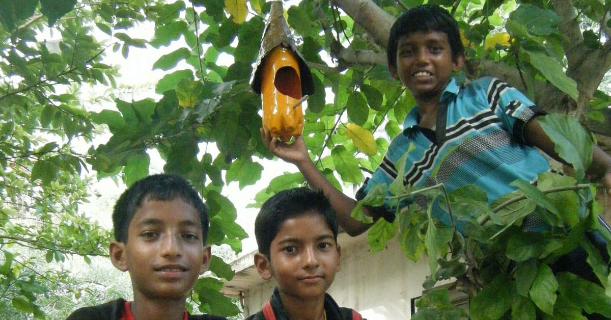 TBI Blogs: These 8 Schoolkids Can Show You How to Make Cost-Efficient Bird Feeders with Waste Material
