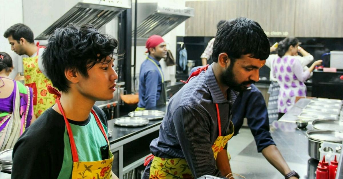 Image result for Seva Café in Bengaluru, Karnataka