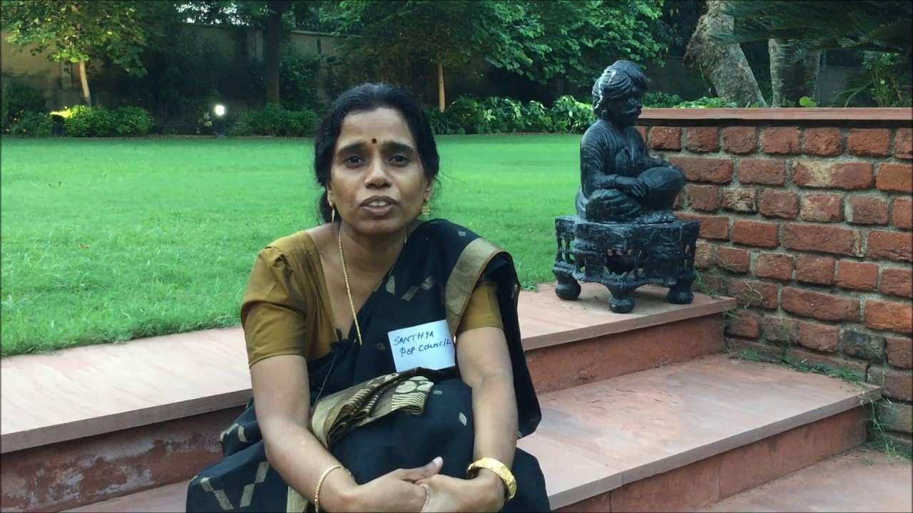 Leading the intervention; K.G Santhya, Senior Associate, Population Council