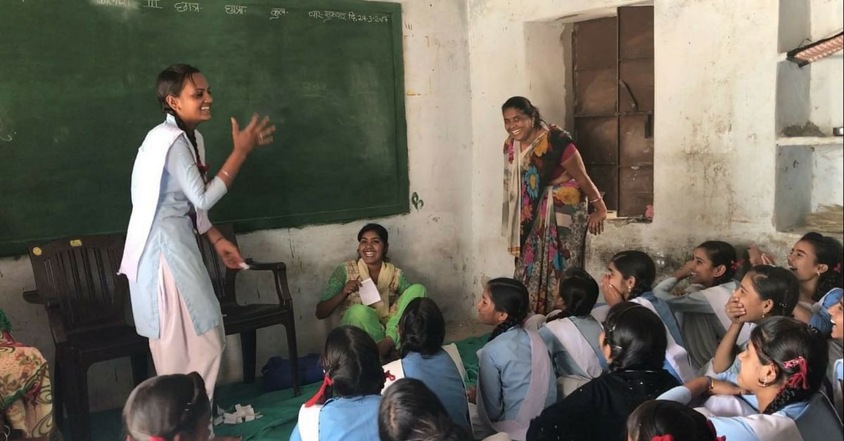 TBI Blogs: Girls in Rural Rajasthan Learn That Menstruation Is No Taboo, Thanks to These Volunteers