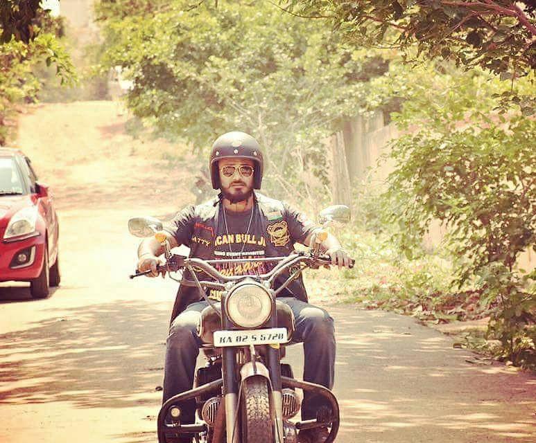 India Bull Riders - Bangalore member, Satish Mohapatra.