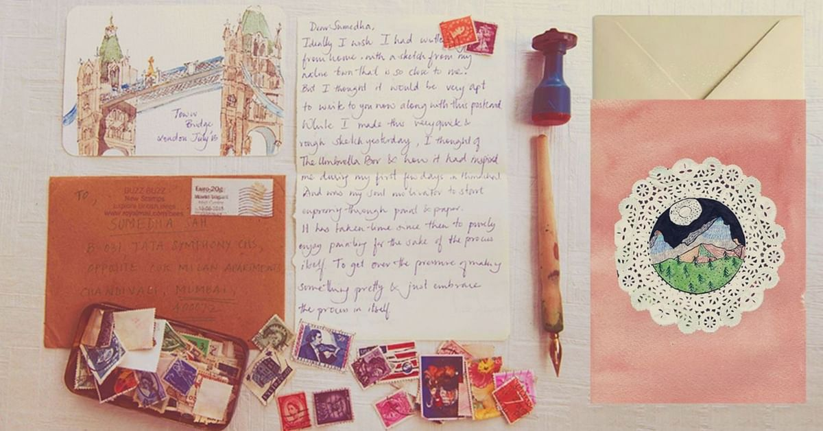 Love Handwritten Letters? You Can Write One to This Woman & Receive an Original Artwork in Return!