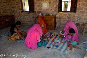 Women at work in Sunder Rang