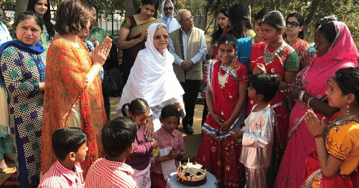 This 74-Year-Old Lady Is Using Her Time, Money & Energy to Educate Underprivileged Children
