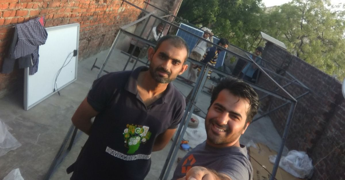 These 2 Young Men Left Their Corporate Jobs to Light up an Entire Village Using Solar Power!